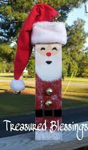 Christmas Decoration With Santa Claus by Best 25 Santa Crafts Ideas On Pinterest Christmas Crafts