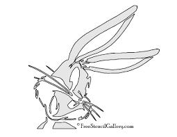bugs bunny stencil free stencil gallery