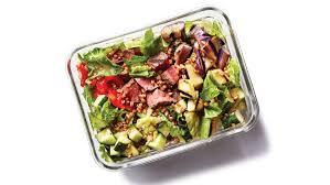 Garden Vegetable Salad by Grilled Steak And Vegetable Salad Recipe Health