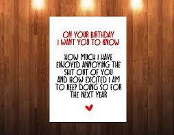 card for husband humour rude birthday card for husband boyfriend