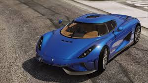 light blue koenigsegg 2016 koenigsegg regera add on autospoiler hq gta5 mods com