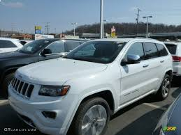 2014 blue jeep grand cherokee 2014 bright white jeep grand cherokee overland 4x4 79569633