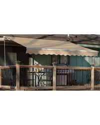 spectacular deal on 12 u0027x10 u0027 manual retractable patio awning