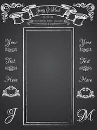 wedding backdrop design vector wedding photo backdrop chalkboard design by thekeepcollective on