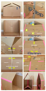 How To Make A Easy Toy Box by Best 25 Cardboard Box Crafts Ideas On Pinterest Cardboard