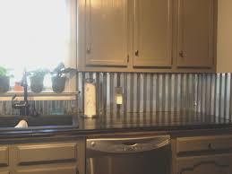 backsplash top kitchen tin backsplash on a budget cool under