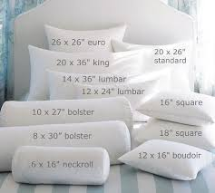 big bed pillows feather pillow insert squares pillows and big
