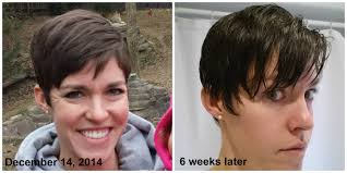 nine months later its a bob from pixie cut to bob haircut growing out pixie haircut month 4 youtube