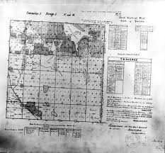 sections townships and ranges florida memory map of tallahassee township 1 range 1