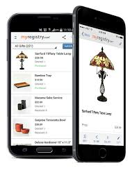 wedding registry apps iphone and android mobile apps myregistry