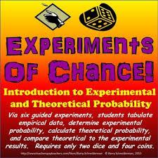 Experimental Probability Worksheet Experimental Probability And Theoretical Probability Experiments