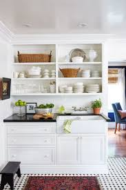 kitchen style beautiful all white farmhouse kitchens design black
