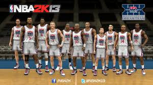 nba 2k13 apk free nba 2k13 goes to the olympics with 1992 team and 2012 usa