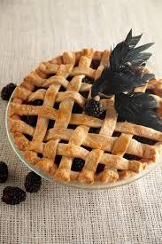 top blackberry blackbird pie