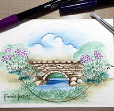 art impressions rubber stamps ai wonderful water color handmade