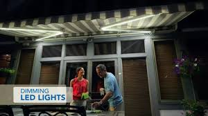 Sunsetter Patio Awning Lights Sunsetter Dimming Led Awning Lights Gallery
