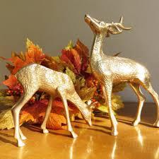 best vintage brass deer statues products on wanelo