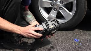 camaro flat tire how to fix a flat tire inflator sealant kit