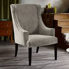 park marcel high back wing chair