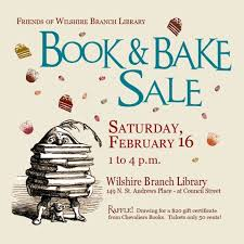 book and bake sale on saturday
