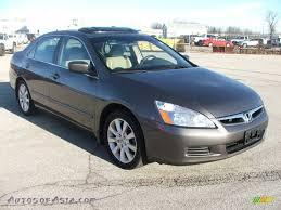 2007 v6 honda accord 2007 honda accord ex l v6 sedan in carbon bronze pearl 001690