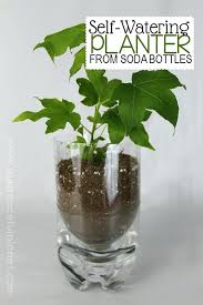 self watering indoor planters indoor plant watering system unique planters from soda bottles a