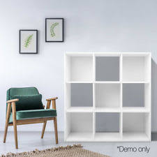 Storage Bookshelf Diy 9 Cube Storage Shelf Cupboard Cabinet Display Bookshelf