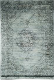 Stylerug by Light Blue Faded Aged Overdyed Style Rug 50 Orchard Living Room