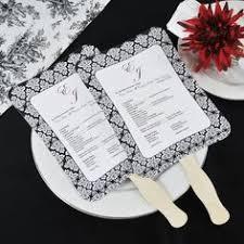 diy wedding programs kits fan wedding programs ceremony spaces details fan