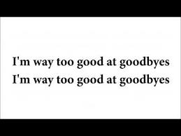 Lirik Lagu Sam Smith At Goodbyes Cover Lirik Lagu
