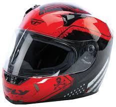 red motocross helmet revolt fs patriot red black helmet fly racing motocross mtb