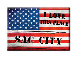 Ebay Lovesac Souvenir Usa Iowa Gift Fridge Magnet America I Love Sac City