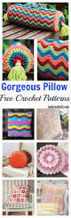 Knitted Cushions Free Patterns 464 Best Crochet Cushions U0026 Covers Images On Pinterest Crochet
