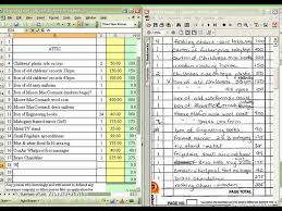 Property Valuation Spreadsheet Personal Property Inventory Contents Claims Youtube