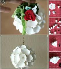 diy ornaments made from paper