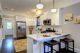 breakfast bar countertop kitchen traditional with area rug counter