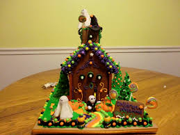 halloween gingerbread house ideas