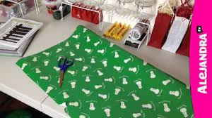holiday gift wrapping station for christmas youtube