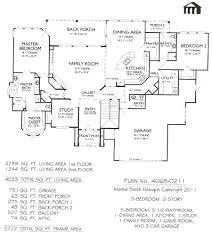 5 bedroom 4 bathroom house plans 2 4 bedroom 5 1 bathroom dining area family room showy