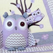 Teal And Purple Crib Bedding Shop Owl And Chevron Baby Bedding On Wanelo