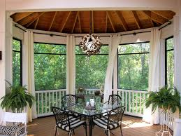 Black Outdoor Curtains Fabulous Outdoor Curtains For Screened Porch Ideas With Outdoor