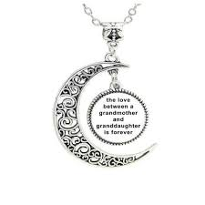 grandmother and granddaughter necklaces between grandmother and granddaughter is forever pendant