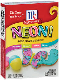 mccormick assorted neon food colors and egg dye shop extracts at heb