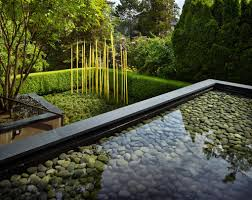 a look at dale and leslie chihuly u0027s minimalist garden the