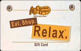 cracker barrel gift card cracker barrel country store