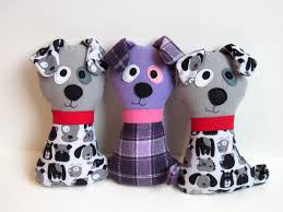 dog softie sewing pattern scruffy the stuffed dog pdf plush