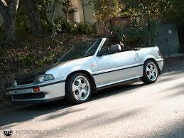 honda convertible 1987 honda civic crx si convertible id 2584
