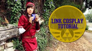 link costumes for halloween link cosplay tutorial youtube