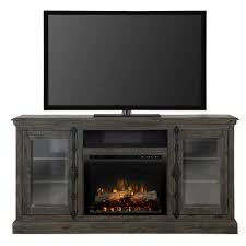 Electric Media Fireplace Dimplex Ashton 68 In Freestanding Electric Media Console In