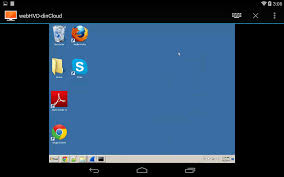 android business users get a virtual desktop in cloud
